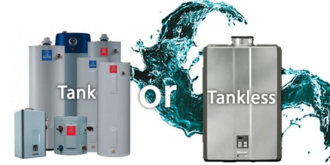 Water Heater Tank Vs Tankless Heaters