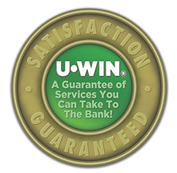 UWin Guarantee badge