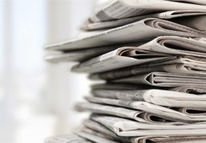 an image of newspapers which can be used to insulate your pipes