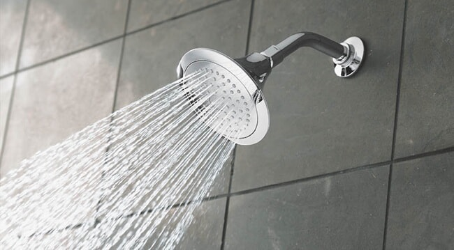 A shower head